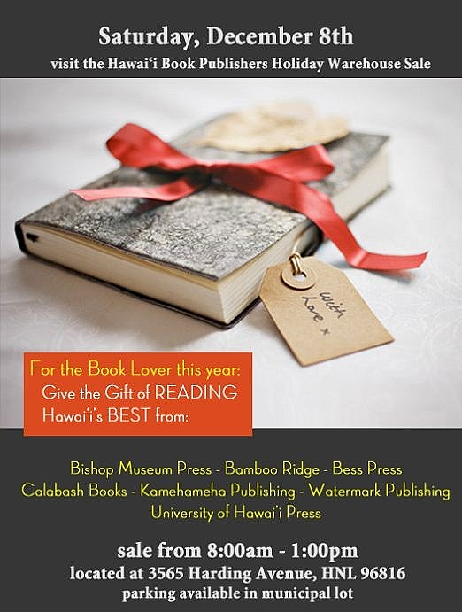 HBPA Holiday Book Sale
