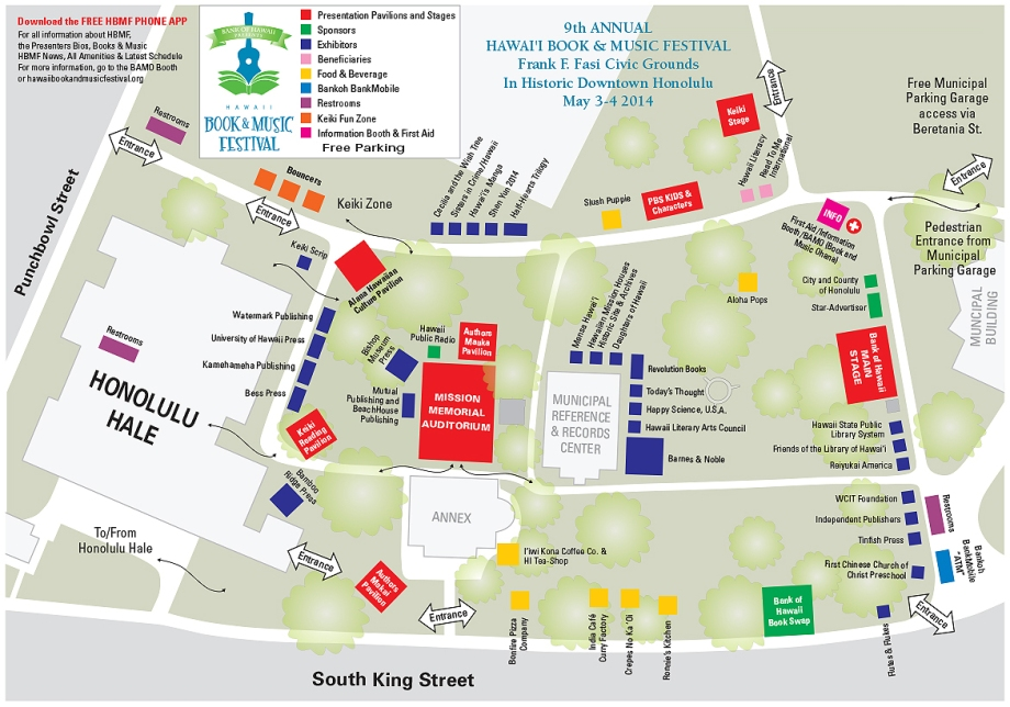 HBMF 2014 event map