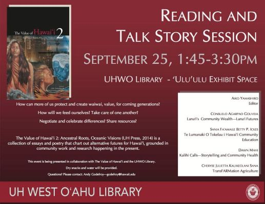 The Value of Hawaii 2 at UH West Oahu Library
