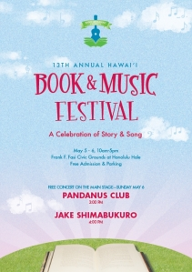 Hawaii Book & Music Festival poster