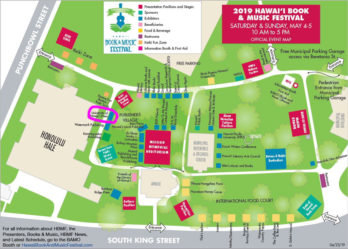 chaminade university campus map Author Events Uh Press chaminade university campus map